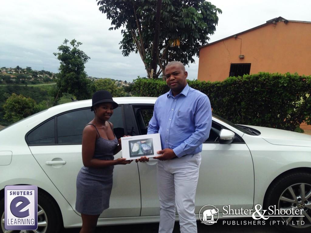 Lenovo Tablet Winner Nontobeka Ntobeh Mbambo!