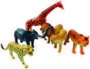 Plastic Wild Animals (Large)