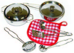Metal Cooking Play Set